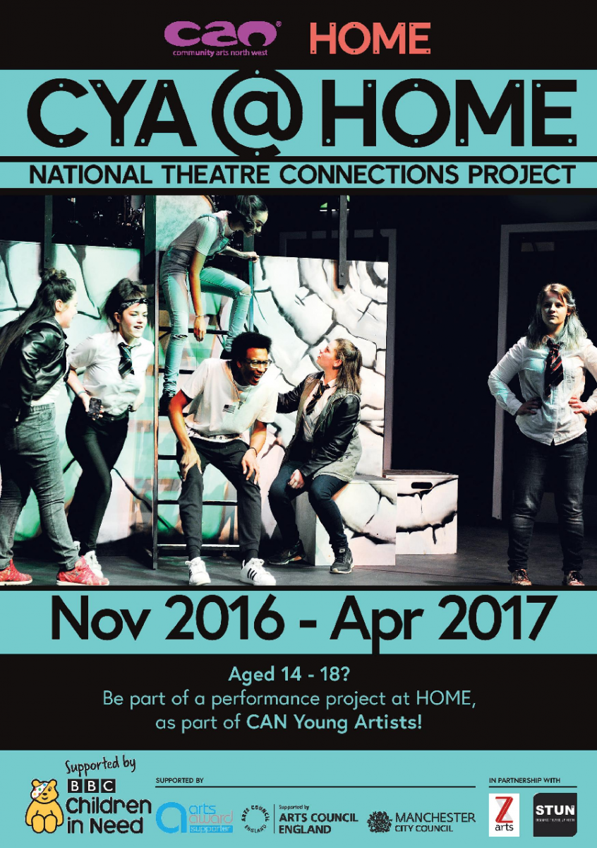 CYA@HOME - Theatre performance project for 14-18 year olds ...