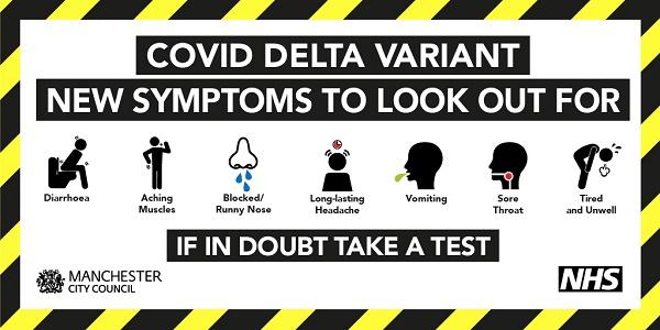 new symptoms