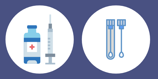 vaccinations and testing