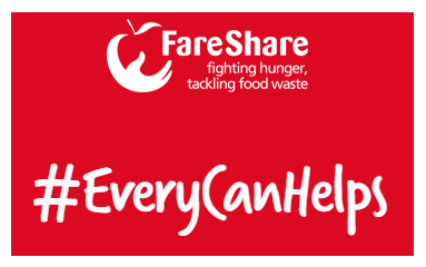 Fareshare #EveryCanHelps