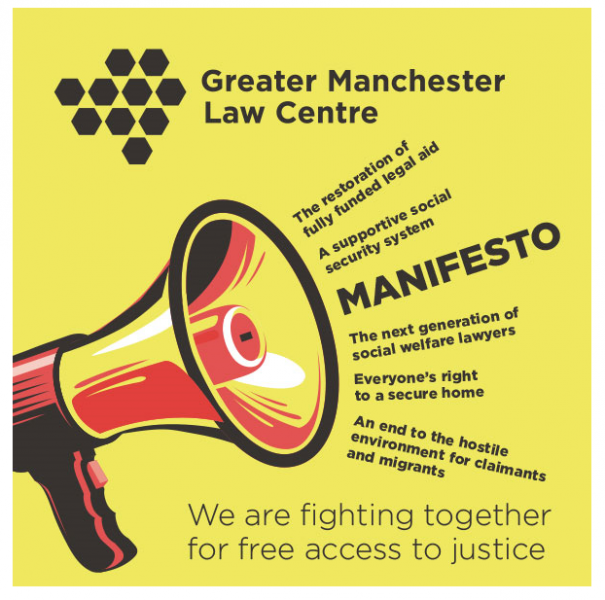 Greater Manchester Law Centre Manifesto