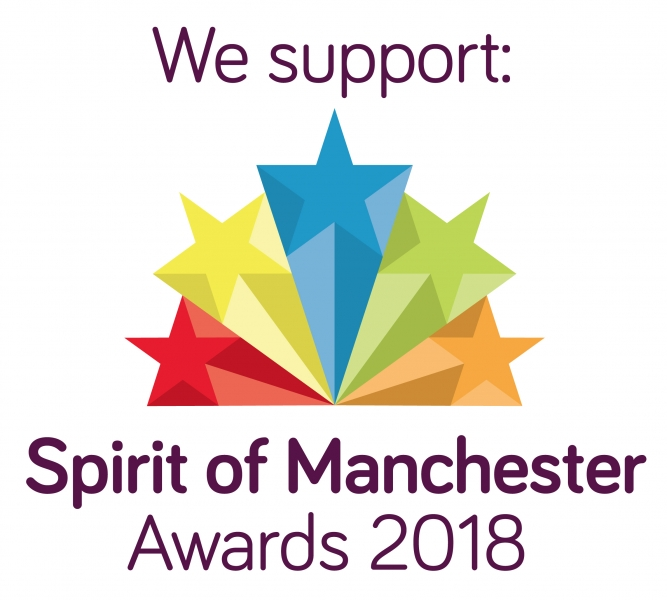 We support Spirit of Manchester 2018