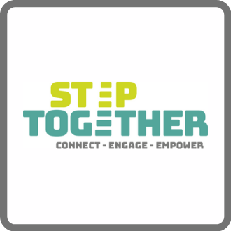 step together volunteering logo