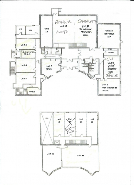 Wesley Centre layout